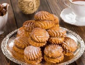 Печенье Ракушки со сгущенкой